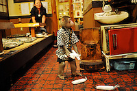 Kayabuki, the monkey bar, that has monkey waiters...Photo by Richard Jones / Sinopix.