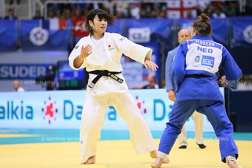 Akari Ogata (JPN), <br /> AUGUST 30, 2013 - Judo : <br /> 2013 Judo World Championships Rio de Janeiro <br /> Women's -78kg <br /> at Maracanazinho Arena, Rio de Janeiro, Brazil. <br /> (Photo by YUTAKA/AFLO SPORT) [1040]