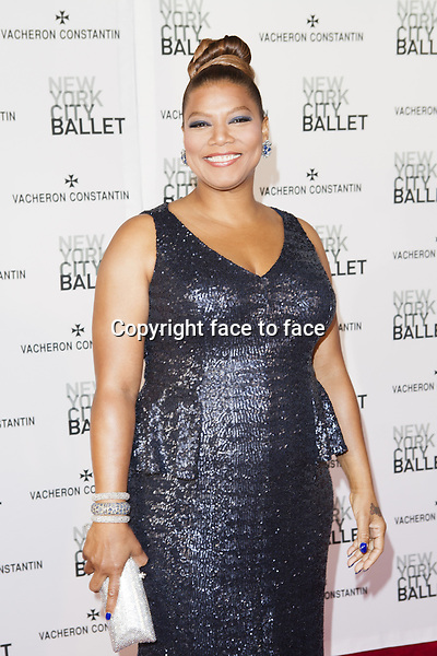 NEW YORK, NY - MAY 8: Queen Latifah attends New York City Ballet's Spring 2013 Gala at David H. Koch Theater, Lincoln Center on May 8, 2013 in New York City...Credit: MediaPunch/face to face..- Germany, Austria, Switzerland, Eastern Europe, Australia, UK, USA, Taiwan, Singapore, China, Malaysia, Thailand, Sweden, Estonia, Latvia and Lithuania rights only -