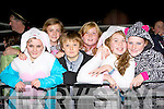 Shauna O'Shea, Rebecca Lane, Darragh Mulvihill, Aoife Ryan, Holly Scanlon, amd Sinead Leahy Abbeyfeale at the Knocknagoshel Halloween festival on Sunday night
