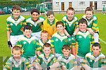 The Boherbee team that competed in the National Schools football blitz in Dr Crokes GAA grounds on Friday front row l-r: Peter O'Keeffe, David O'Keeffe, Stephen Ahern, Liam Daly. Middle row: Alan Cremin, Andrew O'Connor, Jimmy Herlihy, Denis O'Sullivan. Back row: Patrick O'Connell, Tadgh Walsh, Daniel Murphy, Timothy Murphy and Tom O'Sullivan.   Copyright Kerry's Eye 2008