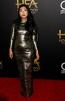 BEVERLY HILLS, CA - NOVEMBER 04: Host Awkwafina attends the 22nd Annual Hollywood Film Awards at The Beverly Hilton Hotel on November 4, 2018 in Beverly Hills, California.  <br /> CAP/MPI/SPA<br /> &copy;SPA/MPI/Capital Pictures