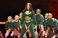 LOS ANGELES, CA - JUNE 23: Cardi B at the 2019 BET Awards Show at the Microsoft Theater in Los Angeles on June 23, 2019. Credit: Walik Goshorn/MediaPunch