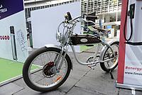 - Milano, primo raduno internazionale dei veicoli elettrici &quot;E_mob2018 &egrave;  tempo di ricarica!&quot;. Bicicletta elettrica &quot;vintage&quot; Italjet<br /> <br /> - Milan, the first international meeting of electric vehicles &quot;E_mob2018 is charging time!&quot;. &quot;Vintage&quot; Italjet electric bicycle