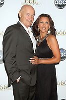 NEW YORK, NY - SEPTEMBER 24: Terry O'Quinn and Vanessa Williams attendz the premiere screening  of  ABC TV series  666 Park Avenue at the Crosby Street Hotel in New York City. © RW/MediaPunch Inc.