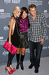 SANTA MONICA, CA. - September 13: Actress Heidi Montag, Philanthropist/Fashion Designer Elyse Walker and actor Spencer Pratt arrive at the 4th Annual Pink Party at Barker Hanger on September 13, 2008 in Santa Monica, California.