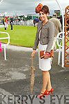 Susan Moriarty, Killarney finalists in the best dressed lady competition pictured at Listowel races on Sunday.