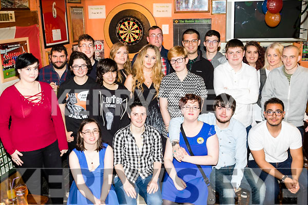 21 wishes<br /> -------------<br /> Helen Edgar, Tralee, seated centre, had a great night in the Huddle bar, Tralee celebrating her 21st birthday last Saturday, along with many friends and family.