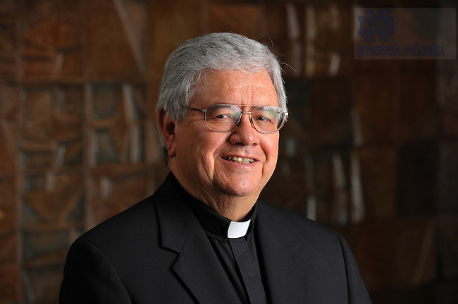 Rev. Virgilio P Elizondo (Virgil)..Photo by Matt Cashore/University of Notre Dame