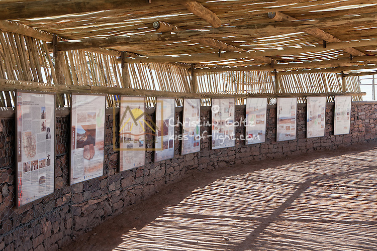 Hobas View Point visitor information centre at Fish River Canyon in Ai-Ais-Richtersveld Transfrontier Park