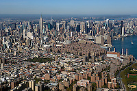 aerial photograph Lower East Side, Manhattan, New York City