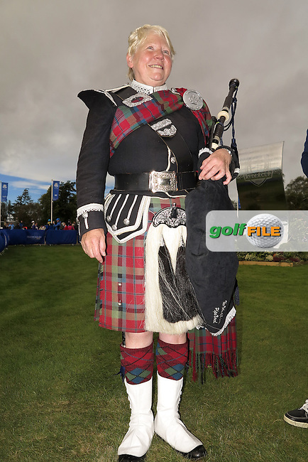 25 Sept 14 A happy PIPER at The Ryder Cup at The Gleneagles Hotel in Perthshire, Scotland. (photo credit : kenneth e. dennis/kendennisphoto.com)