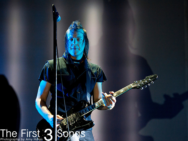 Robin Finck of Nine Inch Nails performs during the 2013 Budweiser Made in America Festival in Philadelphia, Pennsylvania.