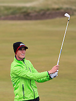 Gary Hurley (IRL) on the 15th fairway during Round 4 of the 2015 Alfred Dunhill Links Championship at the Old Course in St. Andrews in Scotland on 4/10/15.<br /> Picture: Thos Caffrey | Golffile