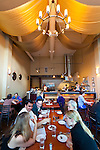 The interior of Andaluz Restaurant, a Tapas Restaurant in Salem, Oregon