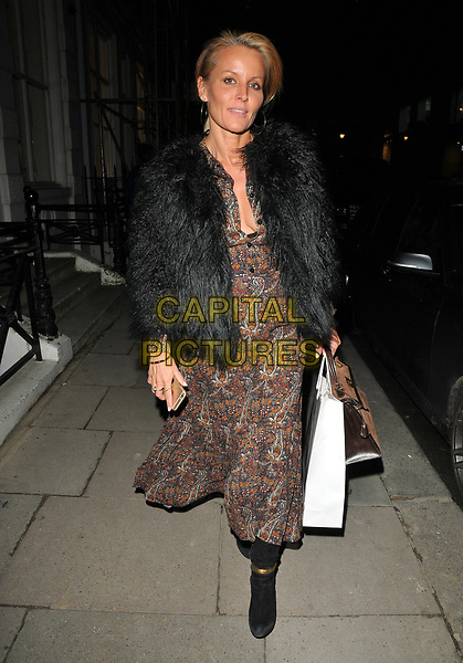 Davinia Taylor at the JR: Giants - Body of Work private view &amp; gallery launch, Lazinc Gallery, Sackville Street, London, England, UK, on Wednesday 10 January 2018.<br /> CAP/CAN<br /> &copy;CAN/Capital Pictures