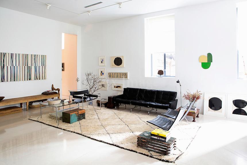 modern bright living room