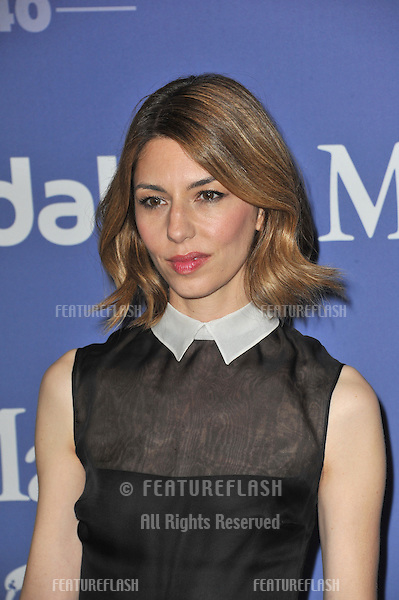 Sofia Coppola at the Women in Film 2013 Crystal + Lucy Awards at the Beverly Hilton Hotel.<br /> June 12, 2013  Los Angeles, CA<br /> Picture: Paul Smith / Featureflash