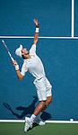 Novak Djokovic (SRB) wins at the Western and Southern Financial Group Masters Series in Cincinnati on August 15, 2012