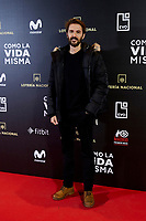 Manuel Velasco attends to 'Como la Vida Misma' film premiere during the 'Madrid Premiere Week' at Callao City Lights cinema in Madrid, Spain. November 12, 2018. (ALTERPHOTOS/A. Perez Meca) /NortePhoto.com