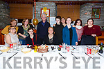 Breeda Whittington front centre from Direen celebrated her 50th birthday with family and friends in Chin Fong Chinese Restaurant in Cahersiveen on Saturday night.