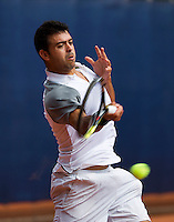 September 03, 2014,Netherlands, Alphen aan den Rijn, TEAN International, Inigo Cervantes (ESP)<br /> Photo: Tennisimages/Henk Koster