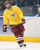 Brian O'Hanley - The Boston College Eagles practiced on Wednesday, April 5, 2006, at the Bradley Center in Milwaukee, Wisconsin, in preparation for their 2006 Frozen Four Semi-Final game against the University of North Dakota.