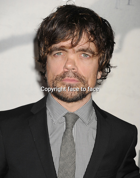 "Peter Dinklage arrives at the Los Angeles premiere of HBO's ""Game Of Thrones"" Season 3 at TCL Chinese Theater on March 18, 2013 in Hollywood, California...Credit: Mayer/face to face - No Rights for USA and Canada -"