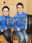 Donnchad Ivory and Darragh Campbell at the Comhaltas Céilí in Ballsgrove Community Centre. Photo:Colin Bell/pressphotos.ie
