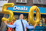 Jonathan Smith store Manager at the opening of the Dealz new store in Thomas Street, Dublin.<br /> <br /> Picture Newsfile/Professional Images