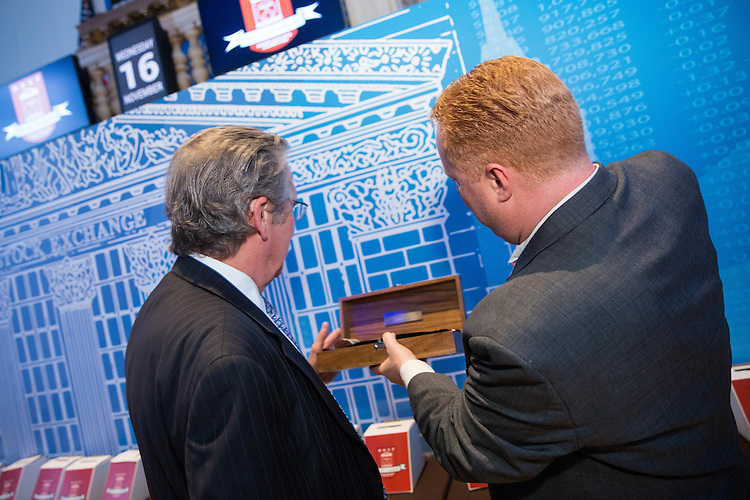 New York, NY: ​​Members Handicapped Children's Fund Fundraiser at the New York Stock Exchange