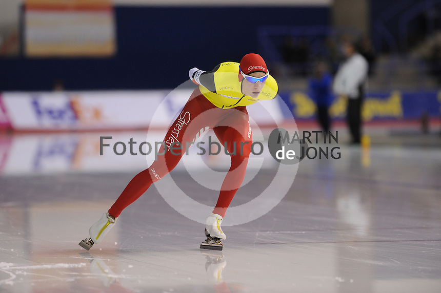 SCHAATSEN: CALGARY: Olympic Oval, 10-11-2013, Essent ISU World Cup, Bart Swings, ©foto Martin de Jong