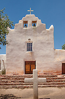 The St. Joseph Church was built around 1701 in the Pueblo of Laguna New Mexico and is located along Rolute 66.  The church was restored in 1935, and is in active use today.