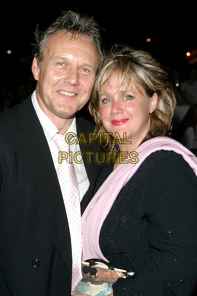 "ANTHONY HEAD, SARAH FISHER.""The Devil Wears Prada"" screening arrivals.Odeon West End cinema, Leicester Square.London England 21st October 2006.Ref: AH.half length.www.capitalpictures.com.sales@capitalpictures.com.©Adam Houghton/Capital Pictures."