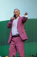 LONDON, ENGLAND - SEPTEMBER 9: Tony Blackburn at BBC Proms in The Park, Hyde Park on September 9, 2017 in London, England.<br /> CAP/MAR<br /> &copy;MAR/Capital Pictures