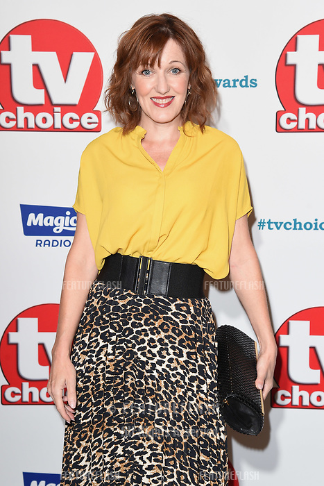 LONDON, UK. September 10, 2018: Kacey Ainsworth at the TV Choice Awards 2018 at the Dorchester Hotel, London.<br /> Picture: Steve Vas/Featureflash