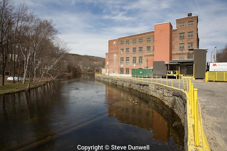 Munkfo mill, Nashua River, Fitchburg, MA
