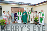 Bishop Ray Browne opening  the new Parish Centre in the Church of the Immaculate Conception Currow on Saturday evening
