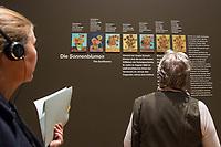 """Ausstellung """"Van Gogh. Stillleben"""" im Potdamer Museum Barberini.<br /> Die Ausstellung versammelt in einer repraesentativen Auswahl 27 Gemaelde. Von den in dunklen Erdtoenen gehaltenen Studien des Fruehwerks der Jahre 1881–1885 bis zu den in leuchtenden Farben gemalten Obst- und Blumenstillleben, die in den letzten Lebensjahren entstanden.<br /> 24.10.2019, Potsdam<br /> Copyright: Christian-Ditsch.de<br /> [Inhaltsveraendernde Manipulation des Fotos nur nach ausdruecklicher Genehmigung des Fotografen. Vereinbarungen ueber Abtretung von Persoenlichkeitsrechten/Model Release der abgebildeten Person/Personen liegen nicht vor. NO MODEL RELEASE! Nur fuer Redaktionelle Zwecke. Don't publish without copyright Christian-Ditsch.de, Veroeffentlichung nur mit Fotografennennung, sowie gegen Honorar, MwSt. und Beleg. Konto: I N G - D i B a, IBAN DE58500105175400192269, BIC INGDDEFFXXX, Kontakt: post@christian-ditsch.de<br /> Bei der Bearbeitung der Dateiinformationen darf die Urheberkennzeichnung in den EXIF- und  IPTC-Daten nicht entfernt werden, diese sind in digitalen Medien nach §95c UrhG rechtlich geschuetzt. Der Urhebervermerk wird gemaess §13 UrhG verlangt.]"""
