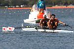 Hiroshi Nakano &amp; Hideki Omoto (JPN), <br /> AUGUST 11, 2016 - Rowing : <br /> Men's Lightweight Double Sculls Semi-fainal <br /> at Lagoa Stadium <br /> during the Rio 2016 Olympic Games in Rio de Janeiro, Brazil. <br /> (Photo by Sho Tamura/AFLO SPORT)