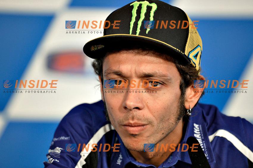 Valentino Rossi <br /> Misano Adriatico (San Marino) 14/09/2014 - free practice - prove libere Moto GP  foto Luca Gambuti/Image Sport/Insidefoto