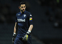 Leeds United's Kiko Casilla<br /> <br /> Photographer Kevin Barnes/CameraSport<br /> <br /> The EFL Sky Bet Championship - Preston North End v Leeds United -Tuesday 9th April 2019 - Deepdale Stadium - Preston<br /> <br /> World Copyright &copy; 2019 CameraSport. All rights reserved. 43 Linden Ave. Countesthorpe. Leicester. England. LE8 5PG - Tel: +44 (0) 116 277 4147 - admin@camerasport.com - www.camerasport.com