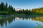 Mt. Hood National Forest, Oregon Mirror Lake is a mountain lake at the foot of Tom Dick and Harry Mountain in the Mt. Hood National Forest, Oregon