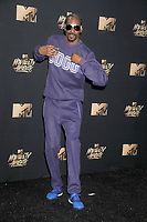 Rapper/actor Snoop Dogg at the 2017 MTV Movie &amp; TV Awards at the Shrine Auditorium, Los Angeles, USA 07 May  2017<br /> Picture: Paul Smith/Featureflash/SilverHub 0208 004 5359 sales@silverhubmedia.com