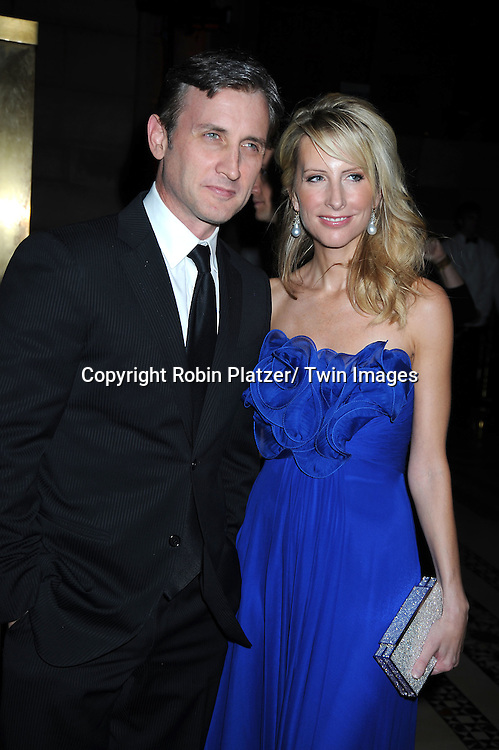 Dan Abrams and Vicky Ward arriving at The New Yorkers for Children 2010 Fall Gala on September 21, 2010 at Cipriani's 42nd Street.
