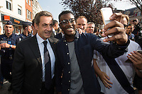 Nicolas Sarkozy's book signing in Tourcoing - France