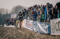 Toon Aerts (BEL/Telenet Fidea Lions)<br /> <br /> Elite Men's Race<br /> Belgian National CX Championships / Koksijde 2018