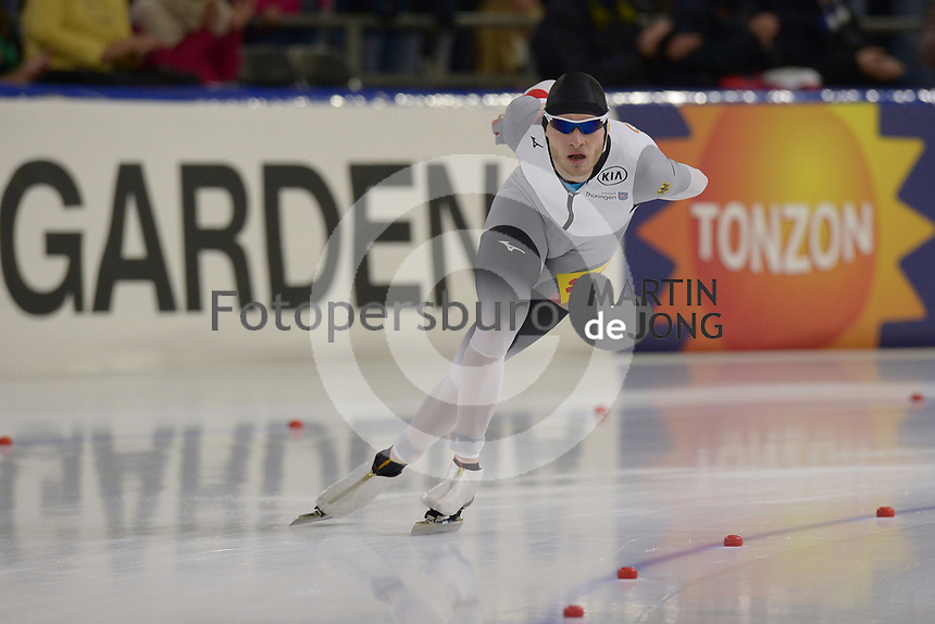 SPEEDSKATING: HEERENVEEN: 16-12-2018,  ISU World Cup, 5000m, Patrick Beckert, ©photo Martin de Jong