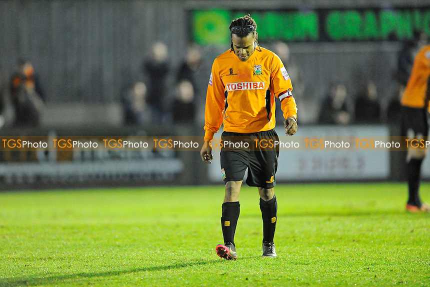 Edgar Davids- Salisbury City vs Barnet - Skrill Premier League  at theRaymond McHenill  Stadium, Salisbury,Wilts - 28/12/13 - MANDATORY CREDIT: Denis Murphy/TGSPHOTO - Self billing applies where appropriate - 0845 094 6026 - contact@tgsphoto.co.uk - NO UNPAID USE