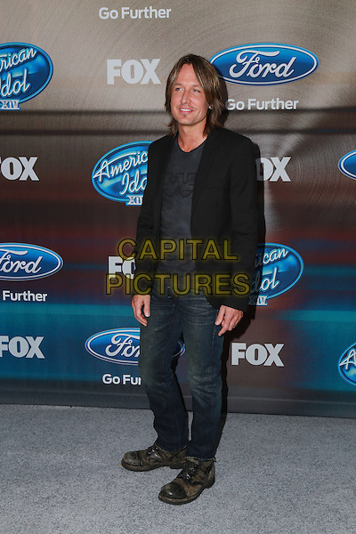 LOS ANGELES, CA - MARCH 11: Keith Urban at Fox's 'American Idol XIV' Finalist Party at The District Restaurant on March 11, 2015 in Los Angeles, California. <br /> CAP/MPI/DC/DE<br /> &copy;DE/DC/MPI/Capital Pictures